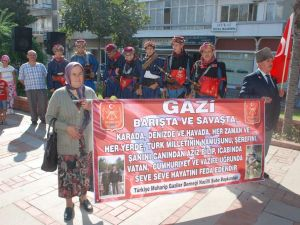 NAZİLLİ'DE GAZİLER GÜNÜ TÖRENLE KUTLANDI