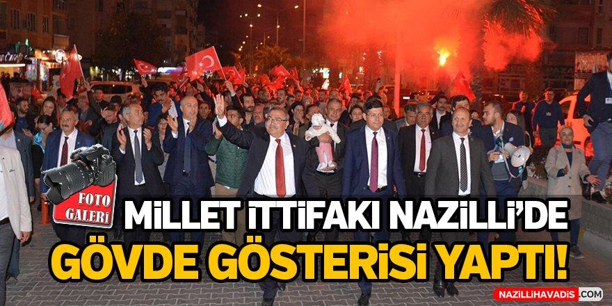 Millet İttifakı Nazilli'de gövde gösteri yaptı!