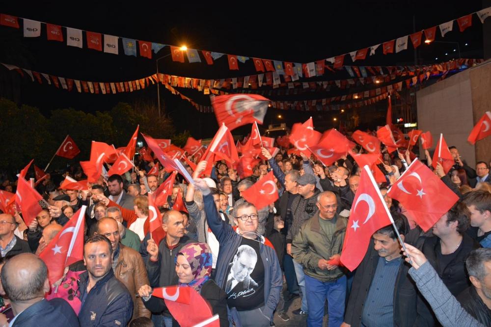 Nazilli sokakları Kürşat Başkan sloganıyla inledi! 1