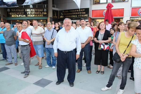 NAZİLLİ'DE 'GEZİ PARKI' PROTESTOSU 1