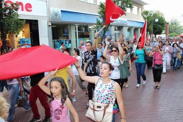 NAZİLLİ'DE 'GEZİ PARKI' PROTESTOSU 13