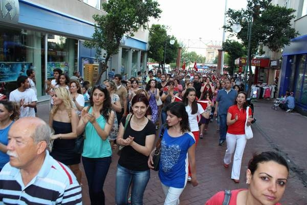 NAZİLLİ'DE 'GEZİ PARKI' PROTESTOSU 15