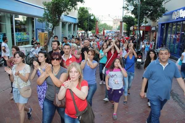 NAZİLLİ'DE 'GEZİ PARKI' PROTESTOSU 16