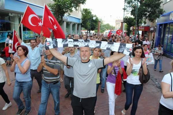 NAZİLLİ'DE 'GEZİ PARKI' PROTESTOSU 17