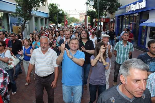 NAZİLLİ'DE 'GEZİ PARKI' PROTESTOSU 18