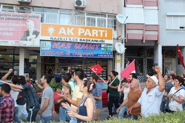 NAZİLLİ'DE 'GEZİ PARKI' PROTESTOSU 21