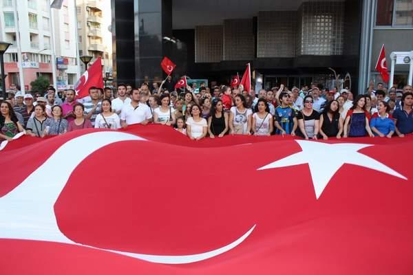 NAZİLLİ'DE 'GEZİ PARKI' PROTESTOSU 3