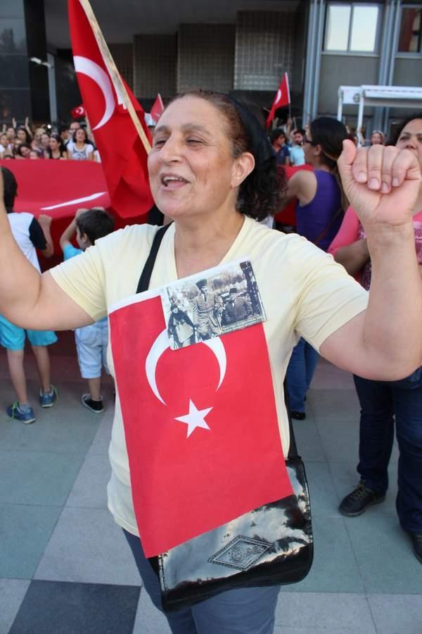NAZİLLİ'DE 'GEZİ PARKI' PROTESTOSU 5
