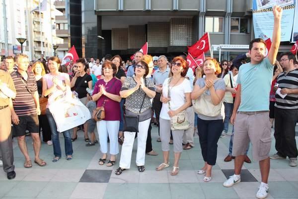 NAZİLLİ'DE 'GEZİ PARKI' PROTESTOSU 6