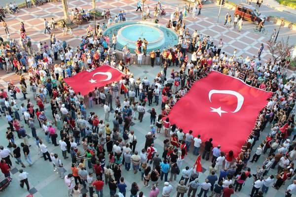 NAZİLLİ'DE 'GEZİ PARKI' PROTESTOSU 8