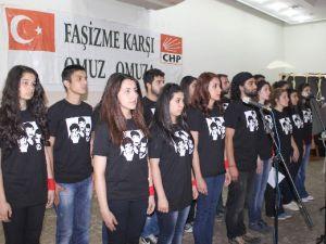 DEVRİM ŞEHİTLERİ NAZİLLİ'DE ANILDI