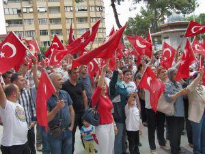 Nazilli'de 'Bayrağa Saygı Yürüyüşü' düzenlendi