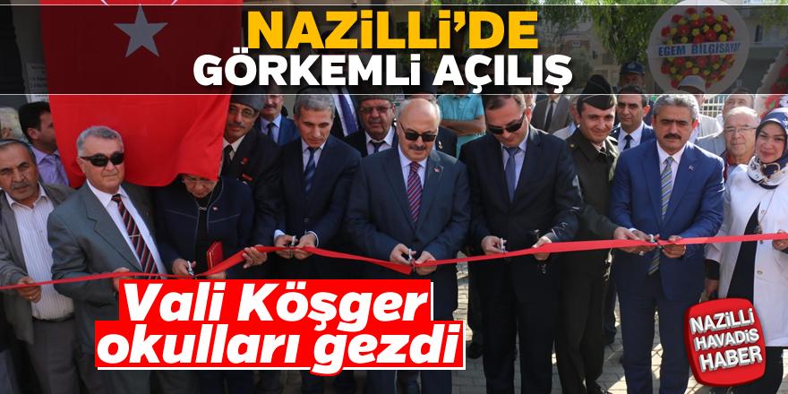 Nazilli'de görkemli açılış
