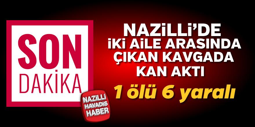 Nazilli'de iki aile arasında çıkan kavgada kan aktı