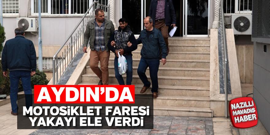 Aydın'da motosiklet hırsızı yakalandı
