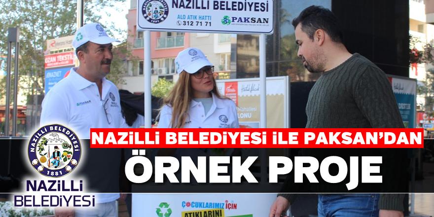 Nazilli Belediyesi ile Paksan'dan örnek proje