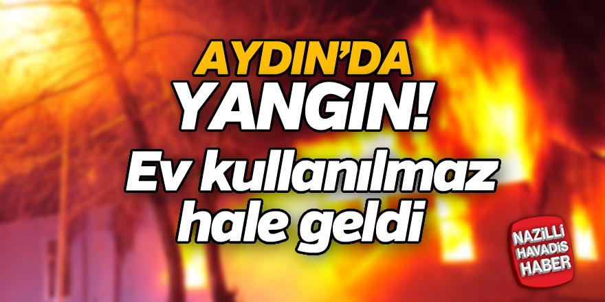 Aydın'da yangın!
