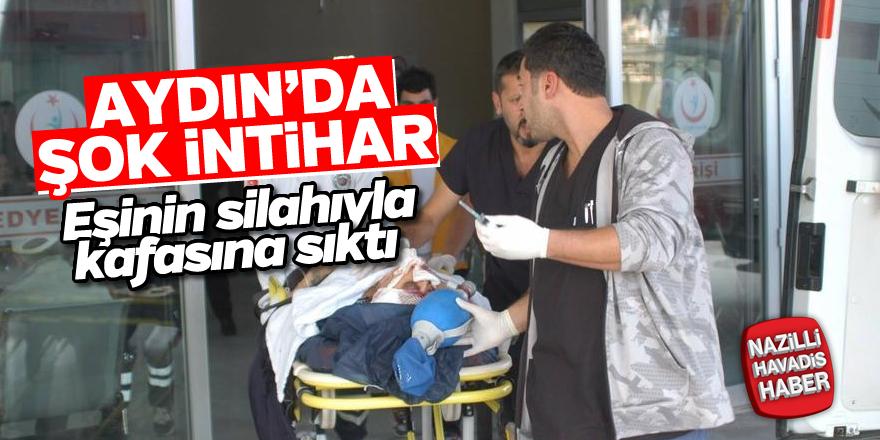 Aydın'da şok intihar!