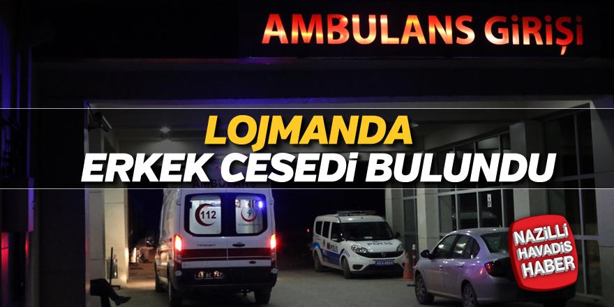 Karavan park alanı çalışanı ölü bulundu