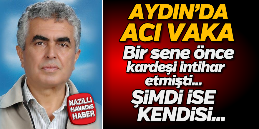 Aydın'da acı vaka!