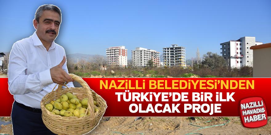 Nazilli Belediyesi'nden Türkiye'de bir ilk