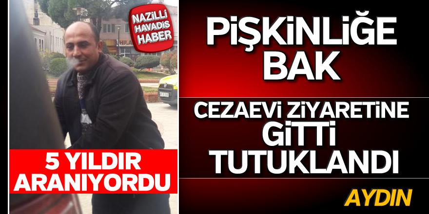 Aydın'da cezaevi firarisi tutuklandı