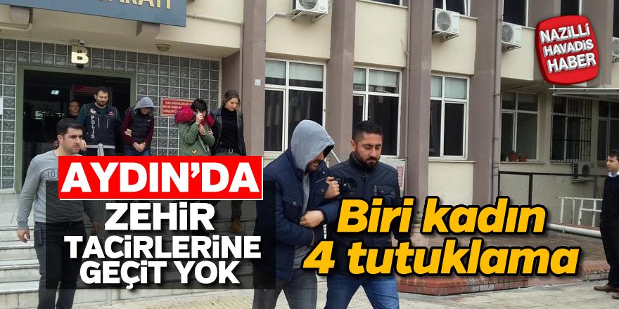 Aydın'da uyuşturucu tacirlerine geçit yok