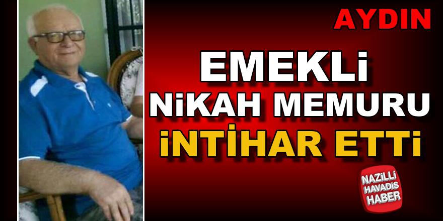 Yenipazar'da emekli nikah memuru intihar etti