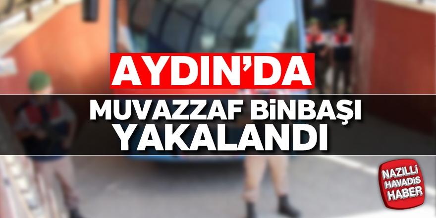 Aydın'da muvazzaf binbaşı yakalandı