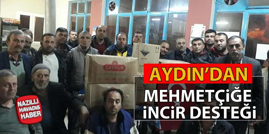 İncirliovalılardan Mehmetçiğe incir desteği