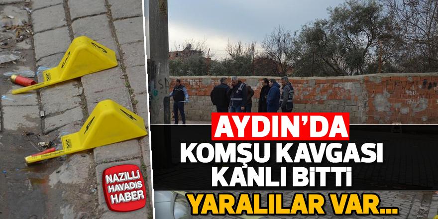 Aydın'da silahlı çatışma