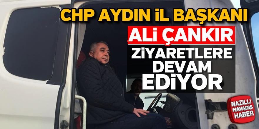 Ali Çankır ziyaretlere devam ediyor