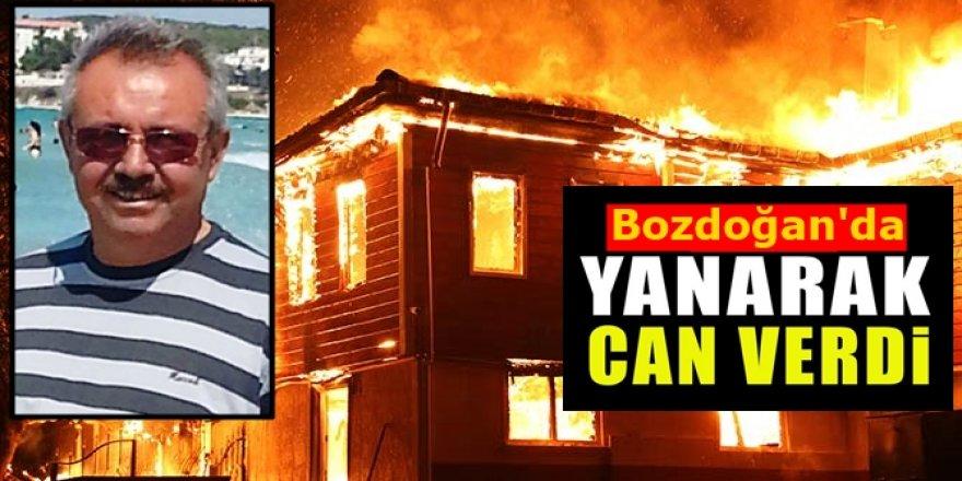 Bozdoğan'da ev yangını: 1 ölü