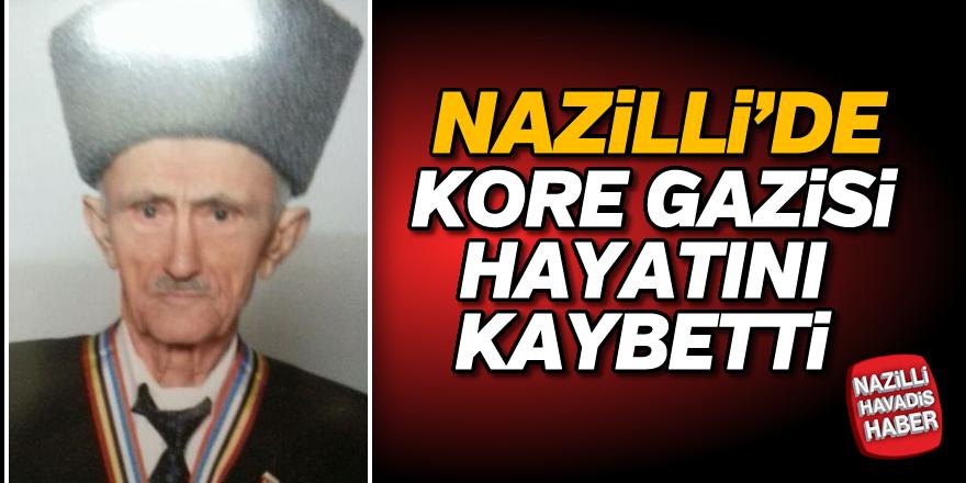 Nazilli'de Kore Gazisi hayatını kaybetti