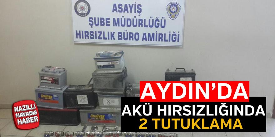 Aydın'da 2 tutuklama