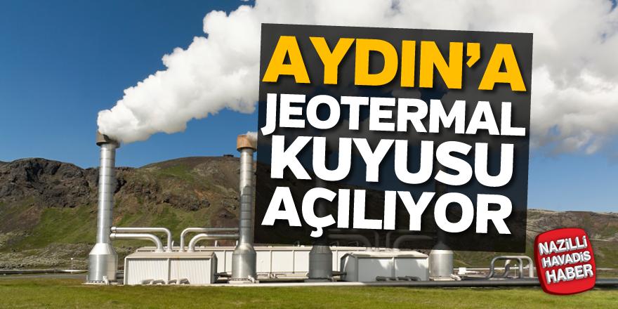 Aydın'da jeotermal kuyusu açılıyor