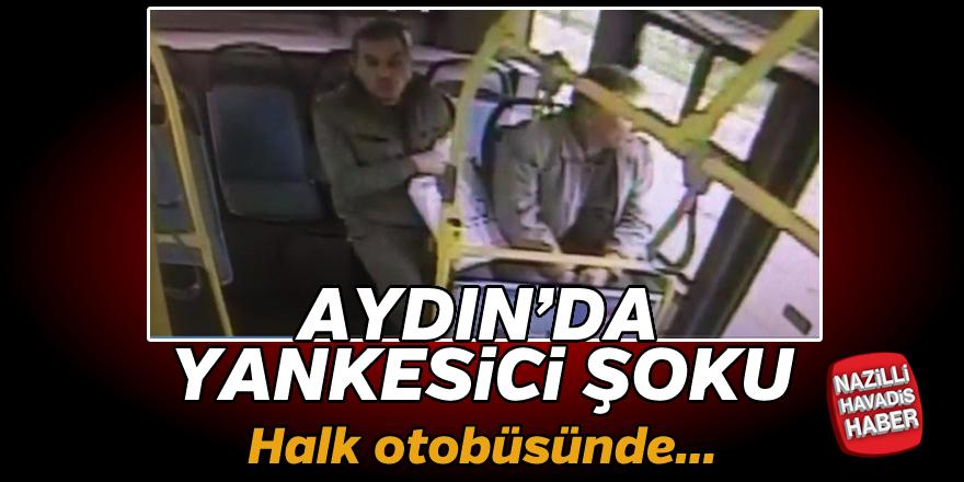 Halk otobüsünde yankesicilik şoku