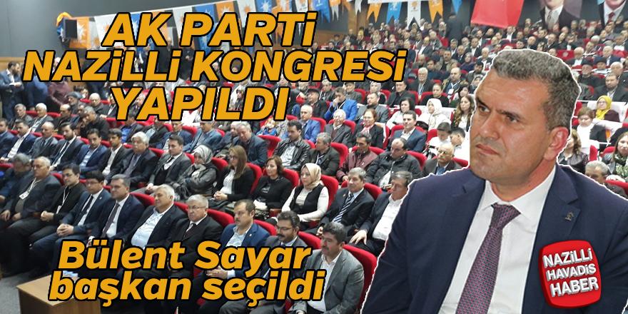 AK Parti Nazilli Kongresi yapıldı
