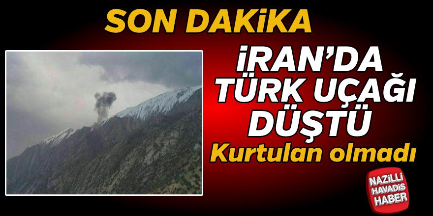 SON DAKİKA ! Türk uçağı düştü