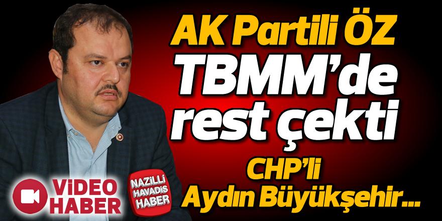 AK Partili Öz, TBMM'de rest çekti