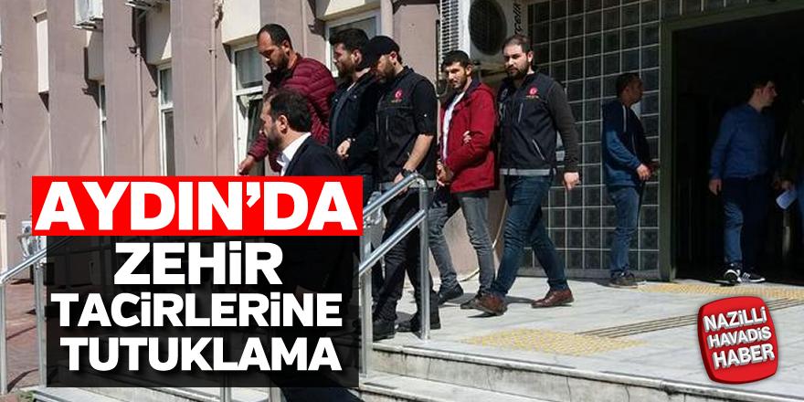 Aydın'da zehir tacirlerine tutuklama
