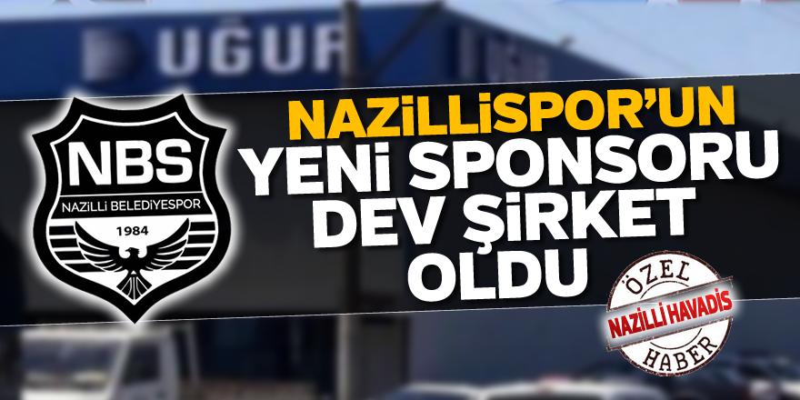 Nazillispor'un yeni sponsoru dev şirket oldu