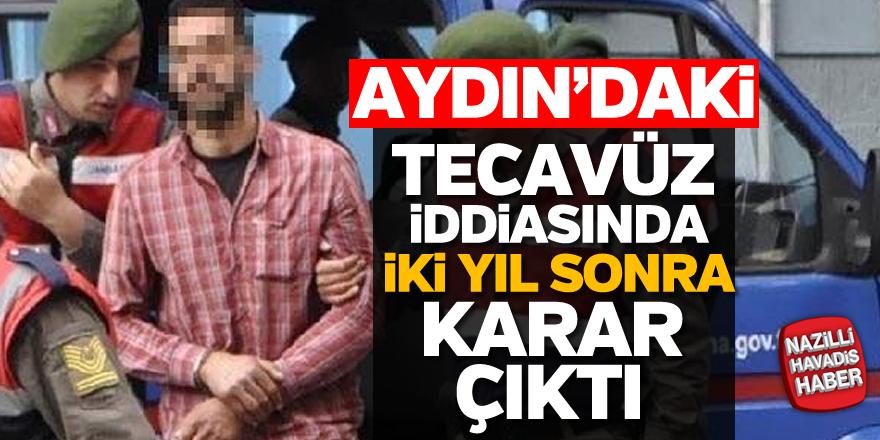 Aydın'daki tecavüz iddiasında iki yıl sonra karar çıktı