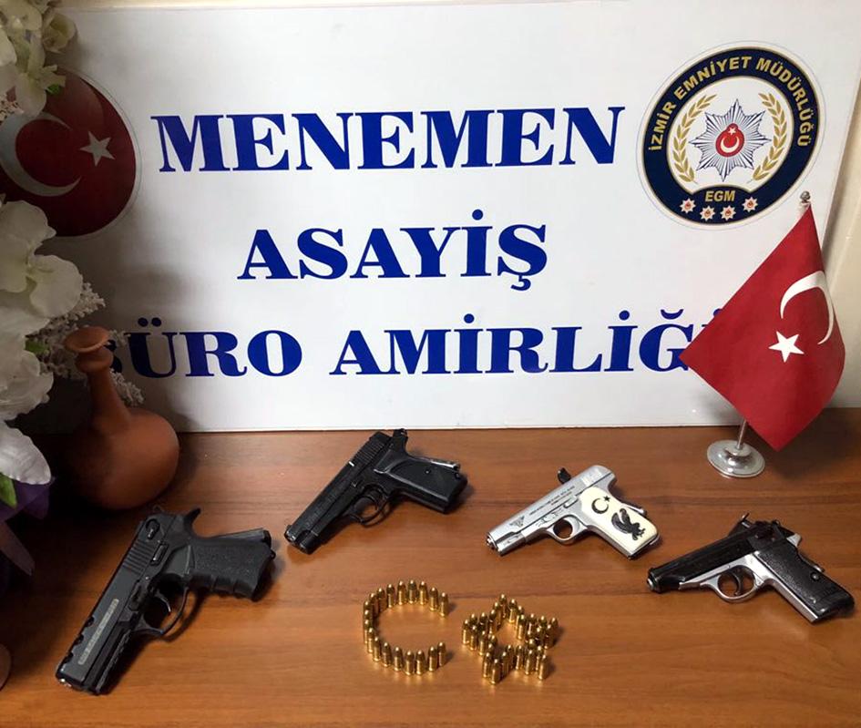 Silah kaçakçılığı operasyonu; 4 tutuklama