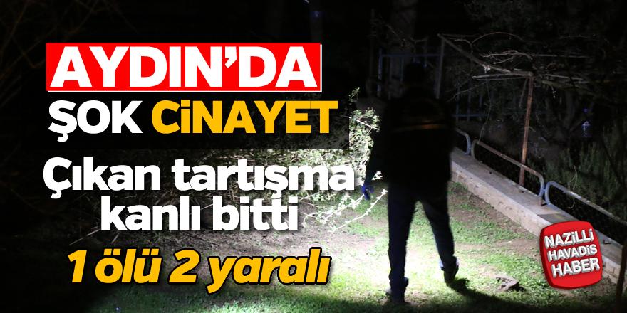 Aydın'da bıçaklı kavga; 1 ölü, 2 yaralı