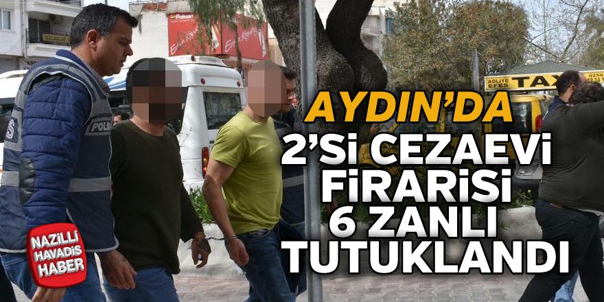57 yıl cezası bulunan kaçaklar yakalandı