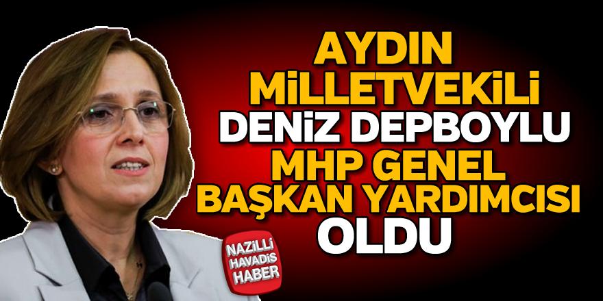 Depboylu, MHP Genel Başkan Yardımcısı oldu