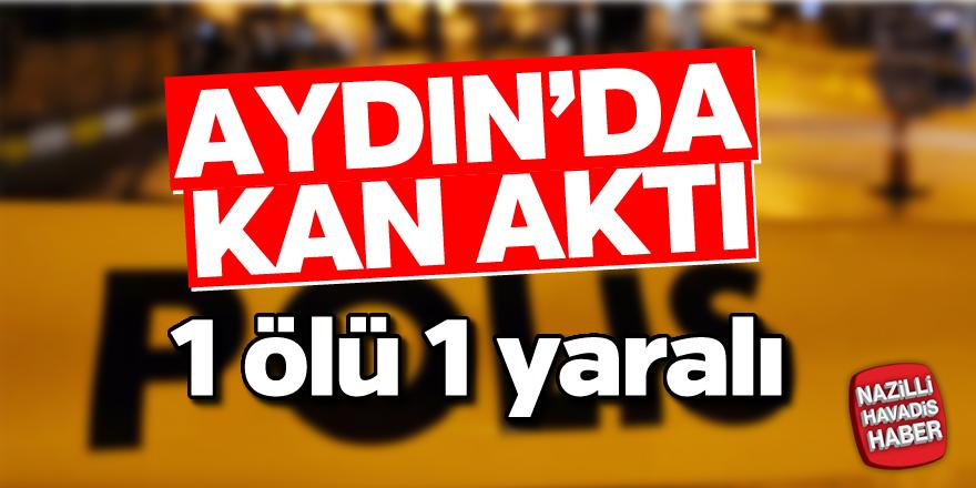 Aydın'da silahlar konuştu; 1 ölü 1 yaralı