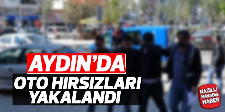 Aydın'da oto hırsızları yakalandı