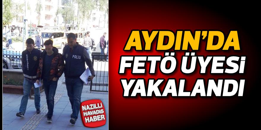 Aydın'da FETÖ üyesi yakalandı